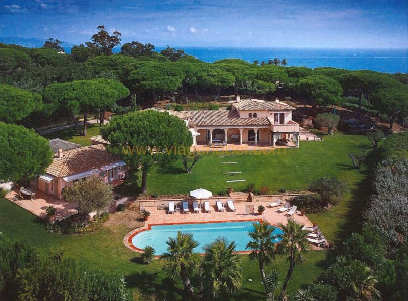 Life annuity house / villa Saint-tropez 7500000€ - Picture 1