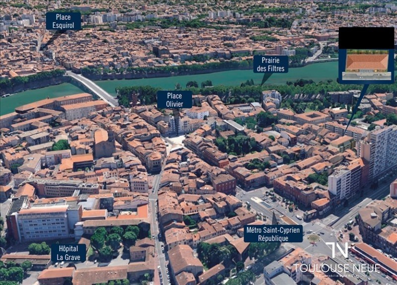 Vente appartement Toulouse 356900€ - Photo 4