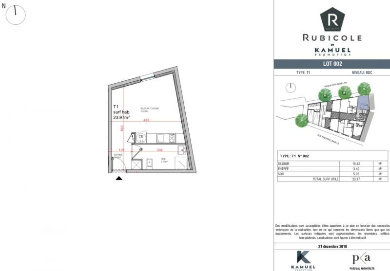 Deluxe sale apartment Montpellier 100674€ - Picture 4