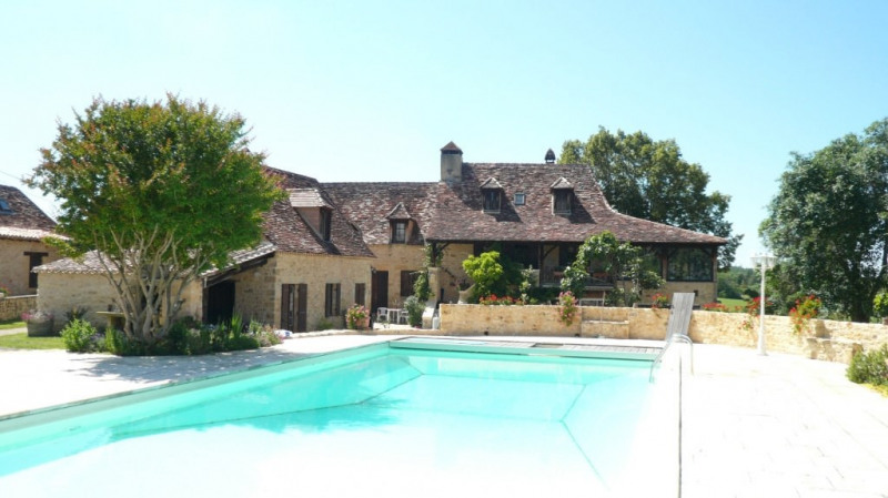 Vente de prestige maison / villa Le buisson-de-cadouin 600000€ - Photo 1