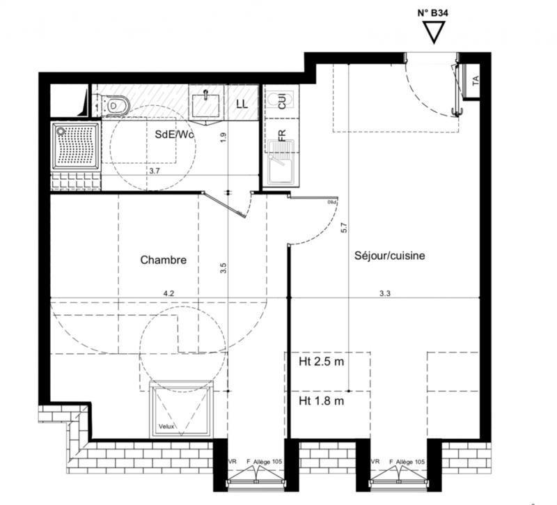 Vente appartement Plaisir 194000€ - Photo 2
