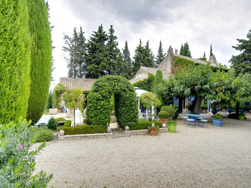 Immobile residenziali di prestigio casa Saint-rémy-de-provence 1768000€ - Fotografia 2