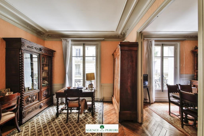 Sale apartment Paris 17ème 520 000€ - Picture 1