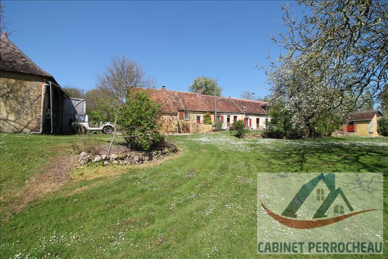 Vente maison / villa La chartre sur le loir 141000€ - Photo 1