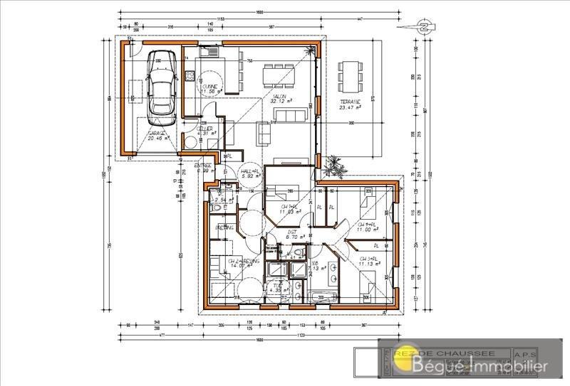 Vente maison / villa Fontenilles 320000€ - Photo 4