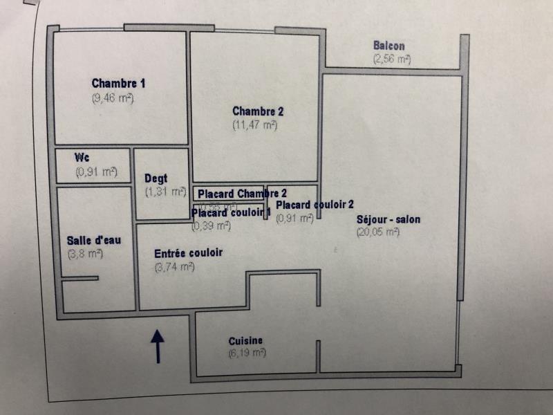Venta  apartamento Viry-chatillon 155000€ - Fotografía 7