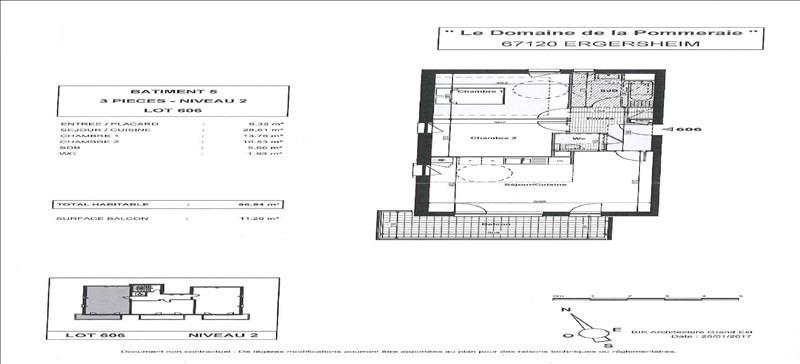 Vente appartement Ergersheim 226000€ - Photo 2