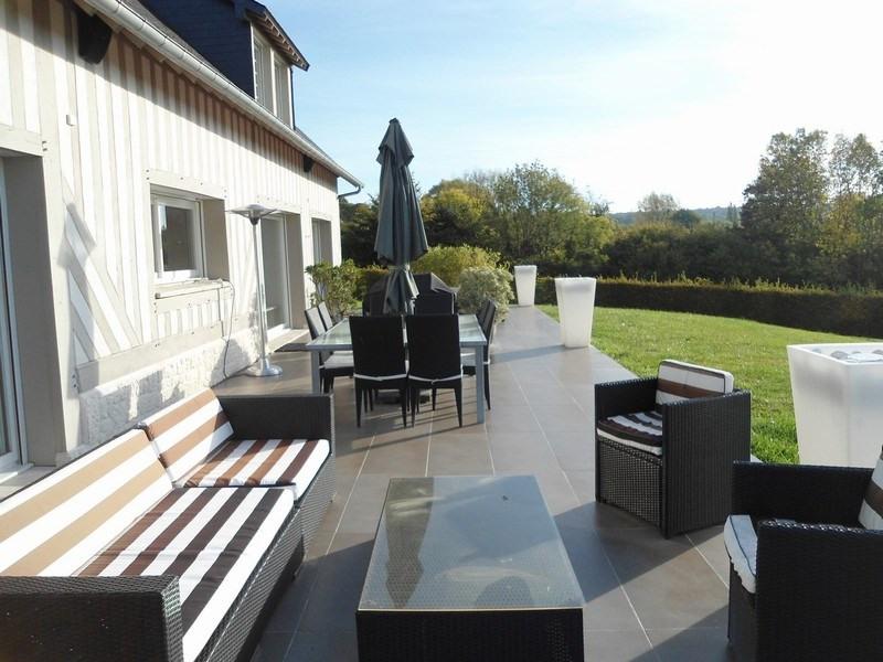Revenda residencial de prestígio casa Englesqueville en auge 1293200€ - Fotografia 4