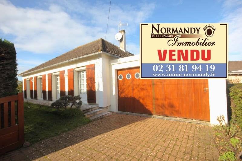Vente maison / villa Villers sur mer 420000€ - Photo 1