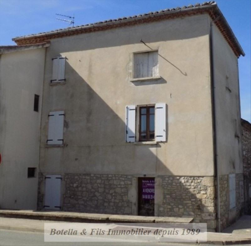 Sale house / villa Barjac 55000€ - Picture 1