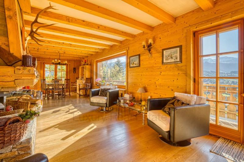 Vente de prestige maison / villa Combloux 1150000€ - Photo 2