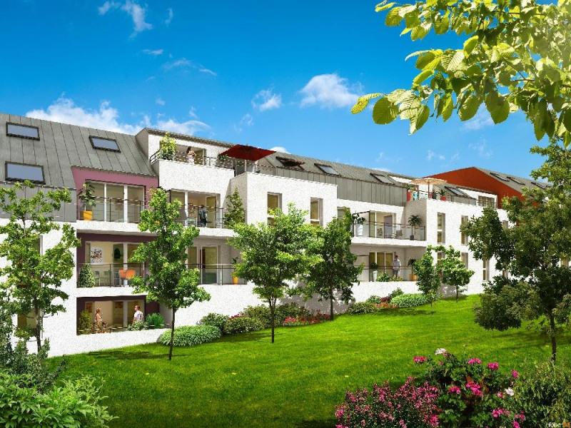 Rental apartment Nantes 514€ CC - Picture 1