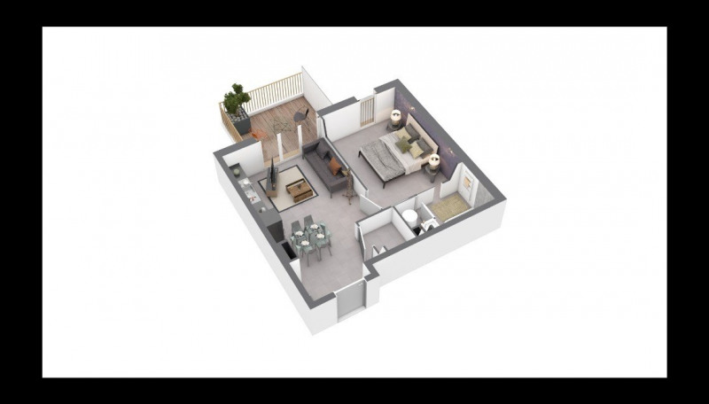 Investment property apartment Ajaccio 157400€ - Picture 1