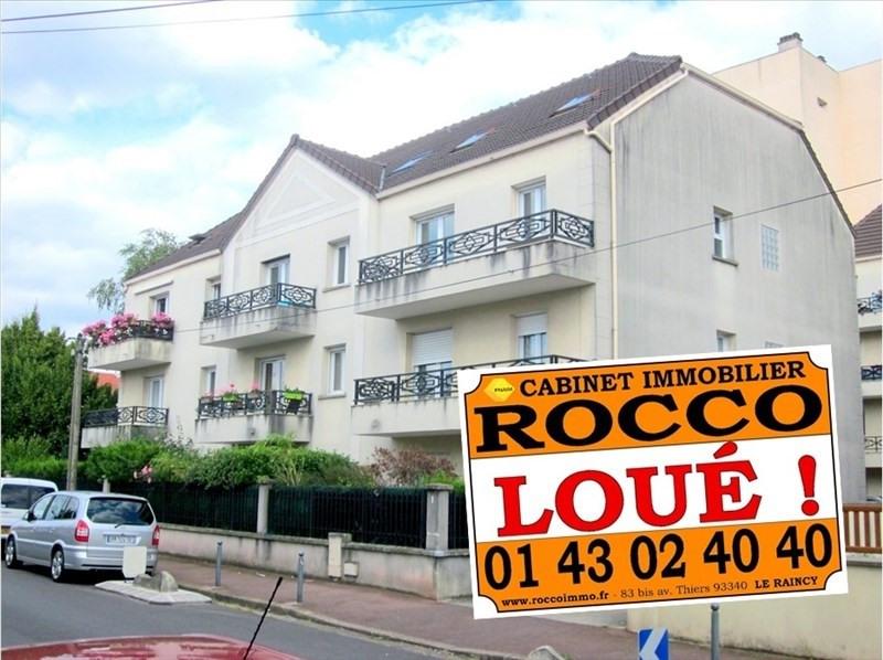 Location appartement Les pavillons sous bois 1411€ CC - Photo 1