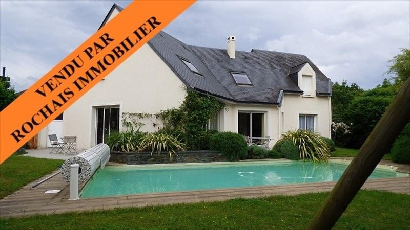 Vente maison / villa Montreuil juigne 455000€ - Photo 1