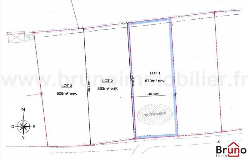 Venta  terreno St quentin en tourmont 87800€ - Fotografía 9