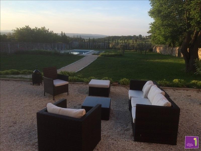 Immobile residenziali di prestigio casa Goudargues 1495000€ - Fotografia 3