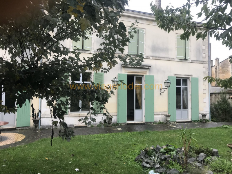Life annuity private mansion Niort 465000€ - Picture 1