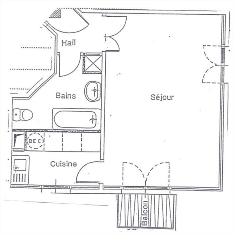 Rental apartment Bures sur yvette 673€ CC - Picture 9