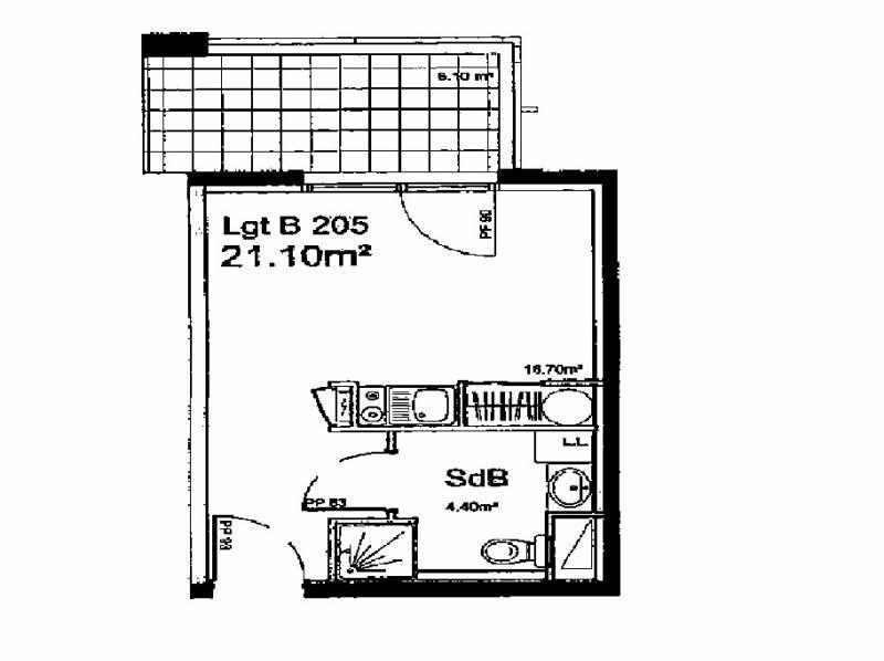Rental apartment Lyon 7ème 456€ CC - Picture 3