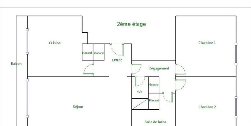 Sale apartment Paris 15ème 672000€ - Picture 10