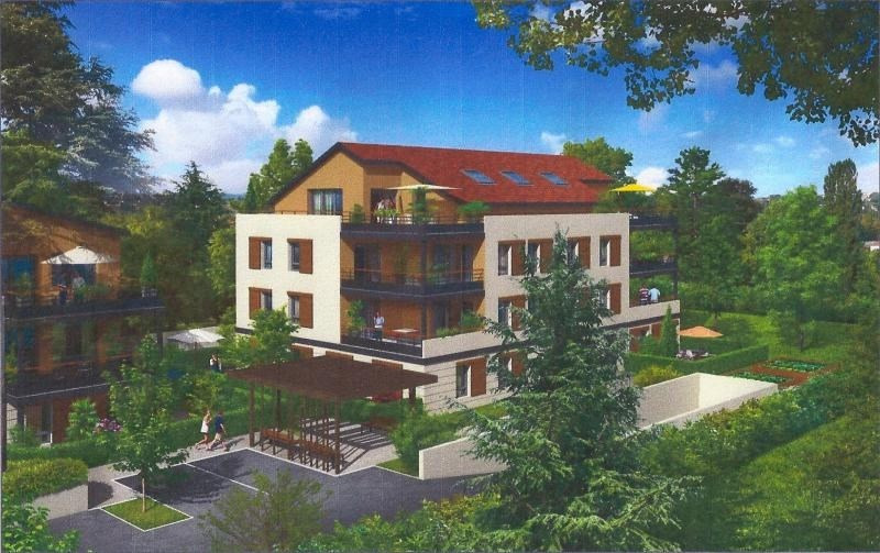 Sale apartment Genas 420 913€ - Picture 2
