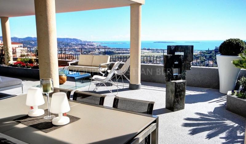 Mandelieu - luxueux 4 pièces vue mer panoramique