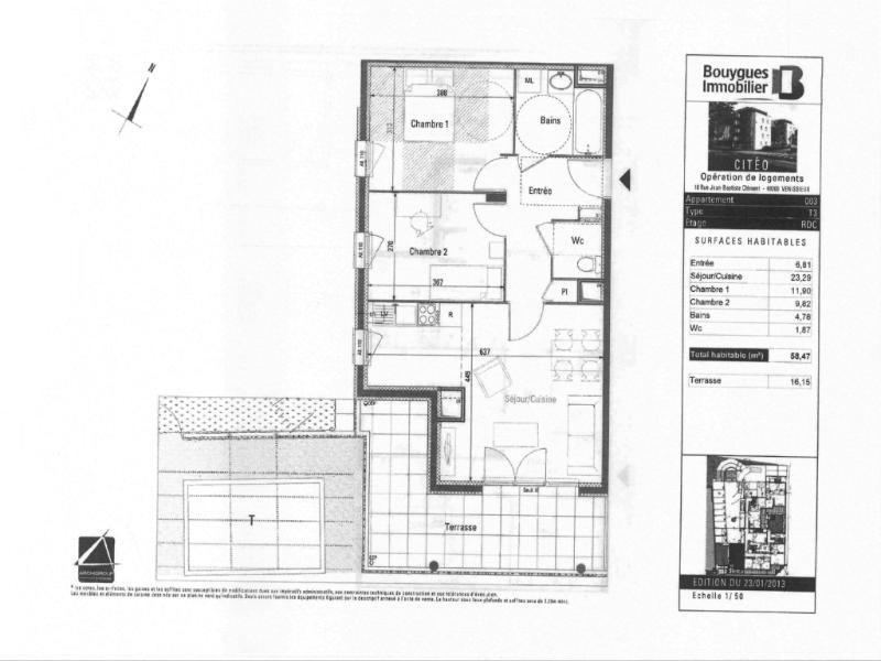 Location appartement Venissieux 739€ CC - Photo 1