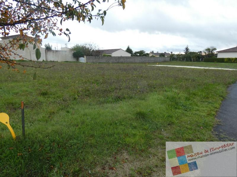 Vente terrain Chateaubernard 49000€ - Photo 3