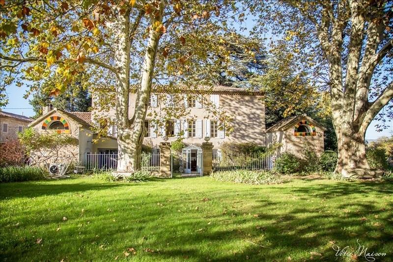 Deluxe sale house / villa Aix en provence 1400000€ - Picture 1