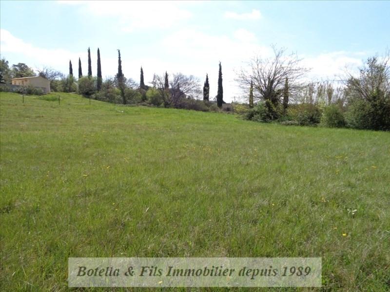 Venta  terreno Barjac 75500€ - Fotografía 1