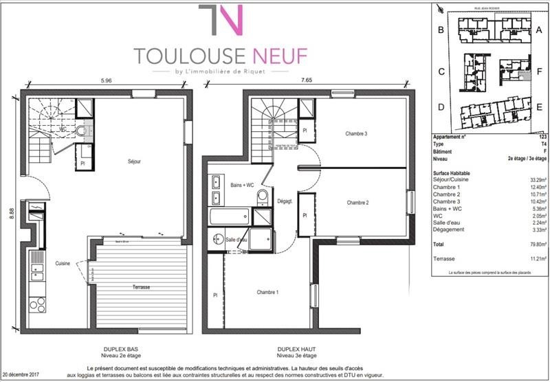 Vente appartement Toulouse 256900€ - Photo 6