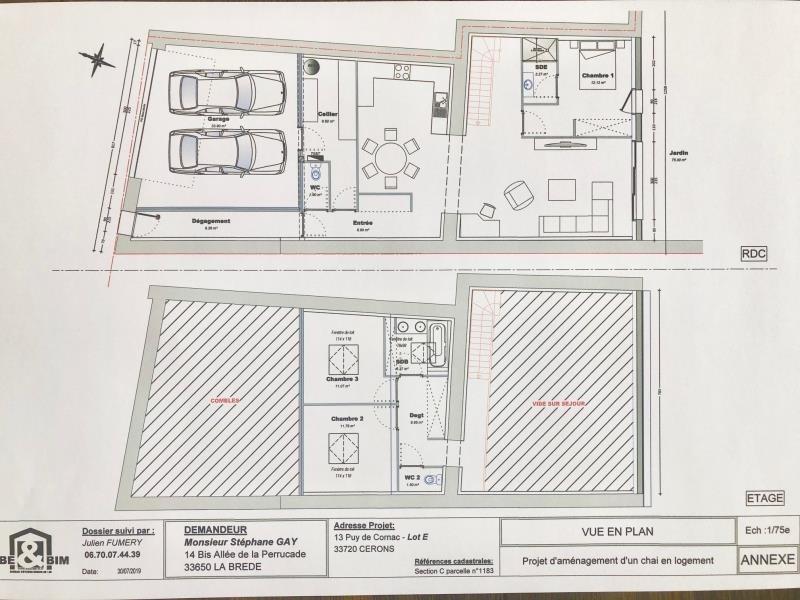 Vendita casa Cerons 79000€ - Fotografia 2