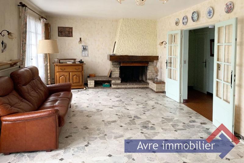 Vente maison / villa Verneuil d'avre et d'iton 164000€ - Photo 2