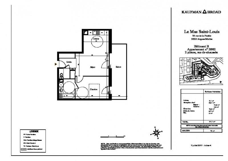 Sale apartment Aigues mortes 177000€ - Picture 3