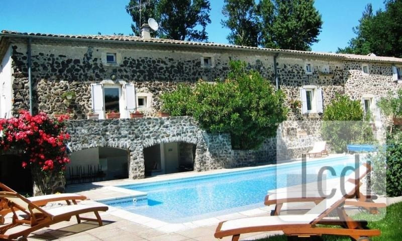 Vente de prestige maison / villa Saint-lager-bressac 890000€ - Photo 1