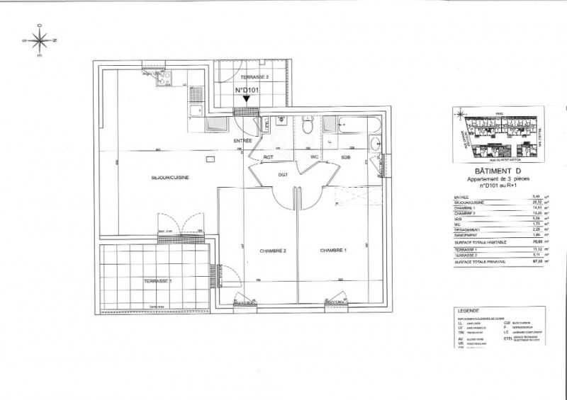 Sale apartment Saint nazaire 216000€ - Picture 6