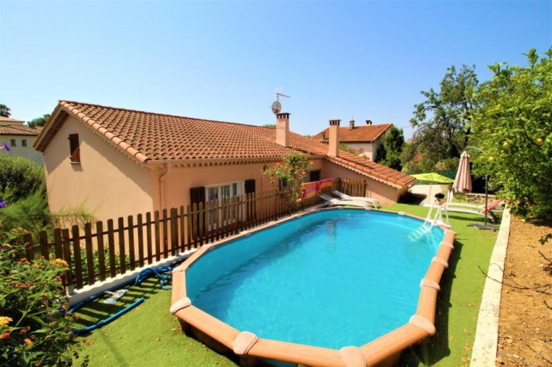 Deluxe sale house / villa Cagnes sur mer 555000€ - Picture 1