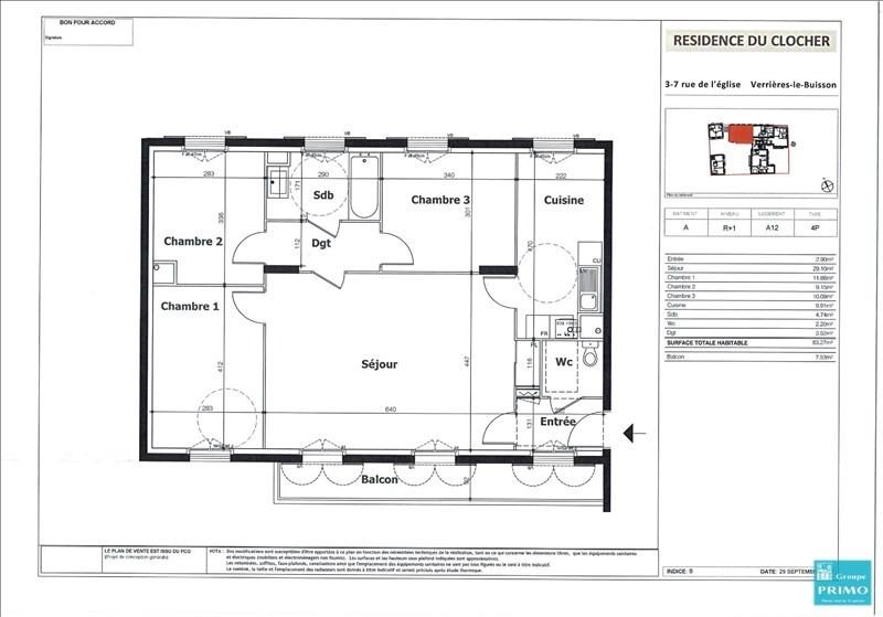 Vente appartement Verrieres le buisson 515000€ - Photo 2