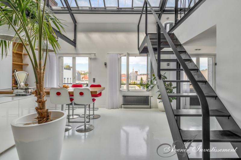 T4 105m² dernier étage Lyon 6ème