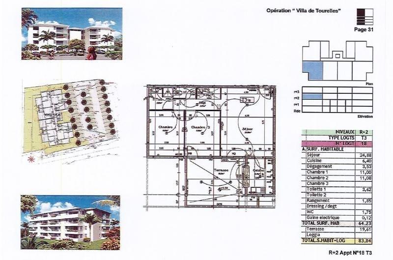 Locação apartamento Fort de france 875€ CC - Fotografia 6