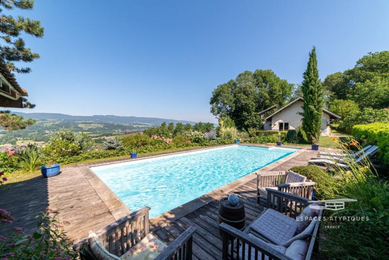 Maison de caractère avec piscine et vue exceptionnelle