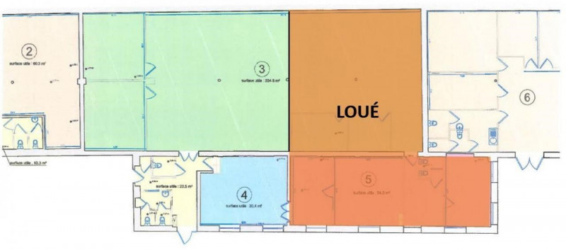 Location bureau Lyon 4ème 2974€ HT/HC - Photo 6