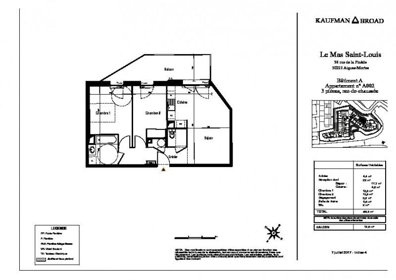 Vente appartement Aigues mortes 231000€ - Photo 3