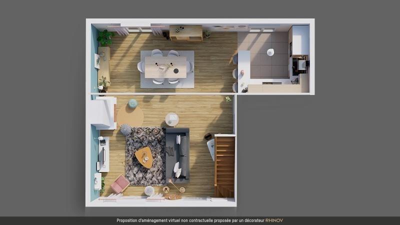 Sale house / villa La chapelle thouarault 224675€ - Picture 4