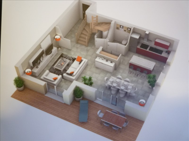 Sale apartment Jonzier epagny 380 000€ - Picture 3