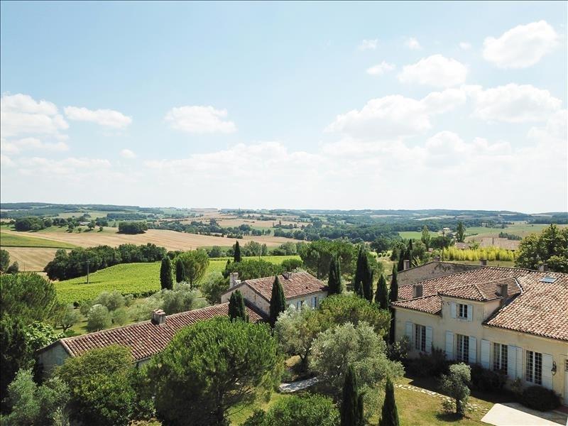 Verkauf von luxusobjekt haus La romieu 1775000€ - Fotografie 3