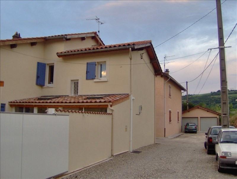 Rental house / villa Chasse sur rhone 730€ CC - Picture 1
