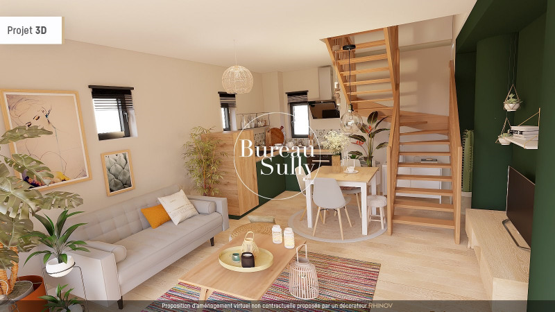 Duplex en rez-de-jardin T2 40m² + jardinet de 20m²