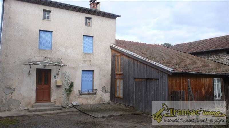 Vente maison / villa La chapelle agnon 97 650€ - Photo 1